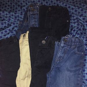 5t jeans from children's place and 1 Carter's boy